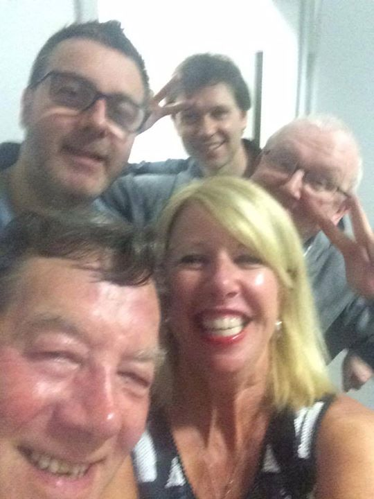 You can't beat a backstage selfie on a Friday, especially with talented audio wizard Tommy Gorman from Sound Acoustic Productions. Happy weekend people 😍