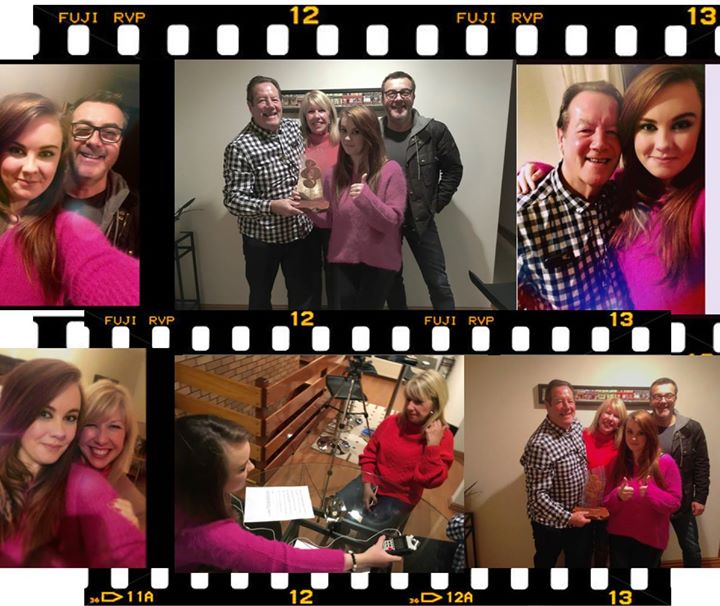 Cracking interview yesterday with the lovely Katy J Doran for her new Vinyl Vanity show on Glasgow's City Radio. Here's a snapshot of what went down 😍