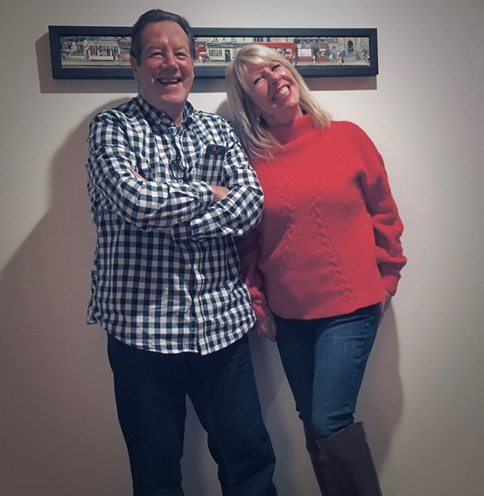 Just a little bit closer: Lorna Osborne and Ian McCredie get it together on Soley Soley Live and all things MOTR for 2018. More PLUS new shots at www.motrband.com 😍