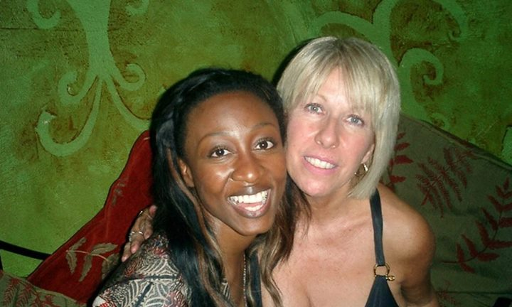 Lorna Osborne with the wonderful Beverley Knight on a soirée in London's west end following an Ivor Novello Awards meeting. Behind the camera was husband Gary with none other than legendary record producer Quincy Jones and did you know Beverley is an MBE, in recognition of her services to British music? A night with music royalty indeed. 🐥