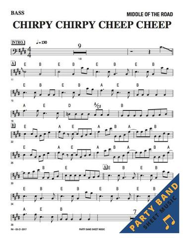 Throwback Thursday: Sheet music for bass guitar. But did you know sheet music sales counted in the UK charts until the late 60s? 🐥