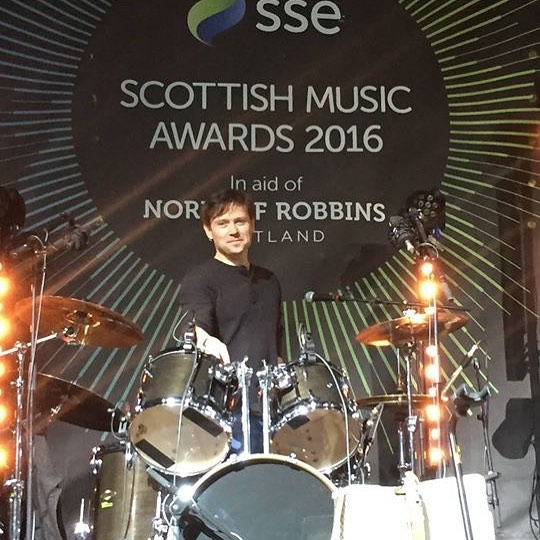 Throwback Thursday: Stephan Ebn onstage in Glasgow for the Scottish Music Awards.