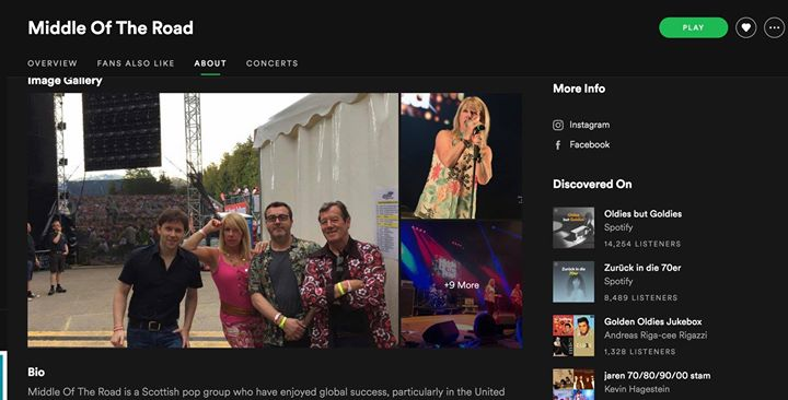 New Spotify profile for all things MOTR. Like and follow MOTRband for up-to-date music, tickets and band news🐥