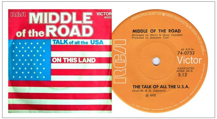 Did you know: The Talk Of All The USA hit the No.1 slot in The Netherlands in 1972? 🐥