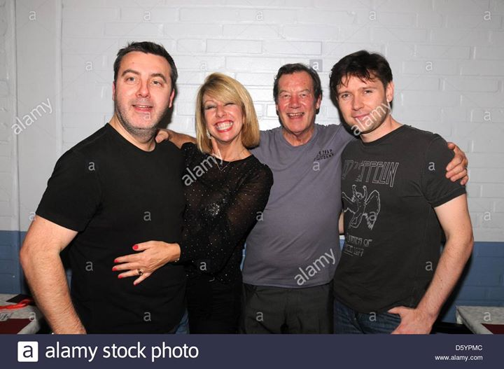 Throwback Thurs: Lorna Osborne, Ian McCredie, Stuart McCredie and Stephan Ebn in Germany in the early noughties. Shot courtesy of Alamy Stock Photo 🐥